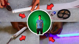 LIGHT PAINTING DIY from Tube Light at Home | Try Karo