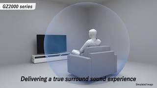 GZ2000: TV dall'audio coinvolgente
