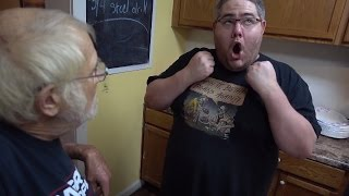 Subway FIVE GUYS Hack feat KidBehindACamera and Angry Grandpa