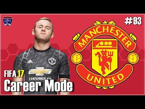 FIFA 17 Manchester United Career Mode: Debut Álvaro Morata & Victor Lindelöf #93 (Bahasa Indonesia)