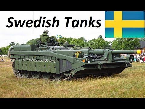 Tanks of Sweden: 1921 – 2017 - Svenska Stridsvagnars / Sverige