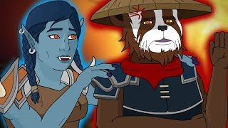 Two Guildies Have a Meltdown P2 - World of Warcraft