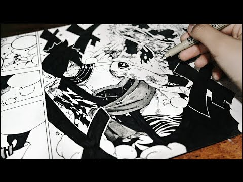 Fairytail-Drawing A Manga Page[#5]