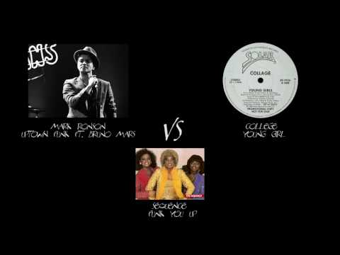 Bruno Mars Mark RonsonUptown Funk VS College Young Girl /Sequence Funk You Up