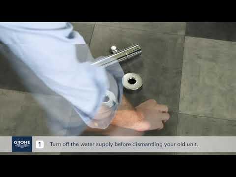 GROHE Jak zamontować baterię termostatyczną - instalacja termostatu SklepBaterie.pl