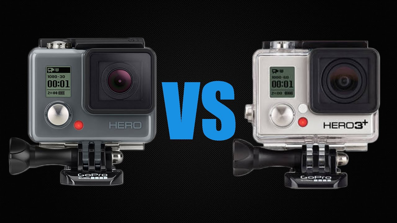 gopro hero vs gopro hero 3 black edition youtube. Black Bedroom Furniture Sets. Home Design Ideas
