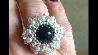 Pearl Wheel Ring Tutorial