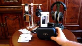 видео FIIO X1 II black