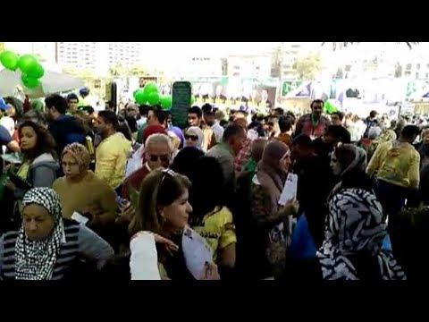 إقبال كثيف من الناخبين مع بداية التصويت في انتخابات نادي الجزيرة الرياضي