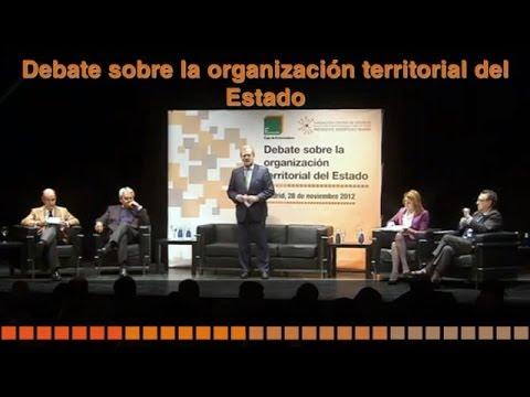 Debate sobre Organización Territorial del Estado. Fundceri