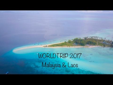 WORLDTRIP 2017 Malaysia & Laos Dji Mavic , Semporna, Luang Prabang