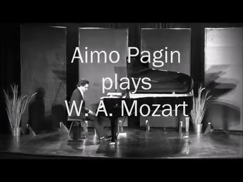 Aimo Pagin plays W. A. Mozart (Adagio K.540)