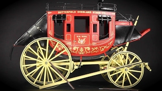 Concord Stagecoach model 1:12 by Michael Pinian