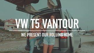 Couple Vanlife In A Selfconverted VW T5 - VANTOUR