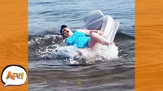 Oh NO! She Floated Into the FAIL! 🤣 | Best Funny Life Fails | AFV 2021