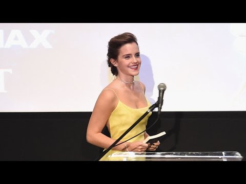 Thumbnail: Emma Watson Channels Belle in Yellow Gown at 'Beauty and the Beast' Book Reading