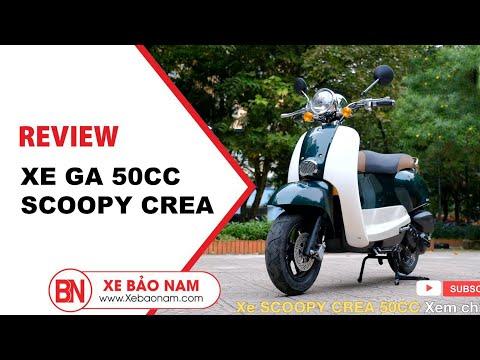 XE GA 50CC CREA SCOOPY Mới Nhất 2021 ( Không Cần Bằng Lái ) | Xe Bảo Nam