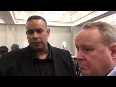 Ray Bobbitt, Pat Healy At Oakland Raiders Fan Conference