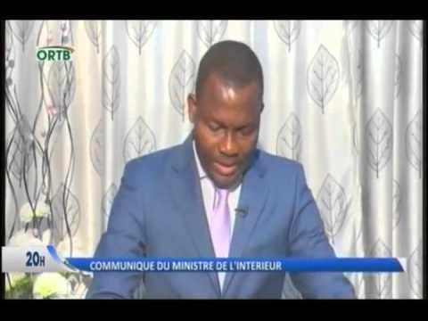 Benin web tv d claration du ministre de l 39 int rieur - Cabinet du ministre de l interieur ...