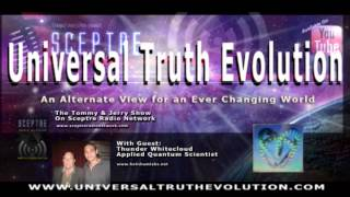 Universal Truth Evolution & Sceptre Radio Interview with Thunder Whitecloud Quantum Scientist