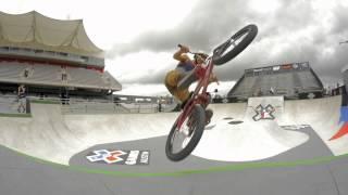 BMX: X GAMES 2014 -- FIRST PARK PRACTICE VIDEO