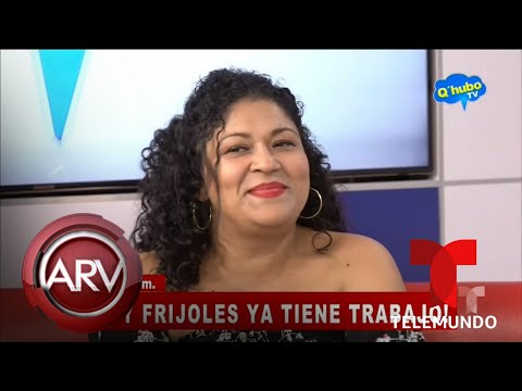 Lady Frijoles se convierte en celebridad de televisión | Al Rojo Vivo | Telemundo