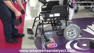 Jetty JT-100 Akülü Tekerlekli Sandalye - Tekerlekli Sandalyeci