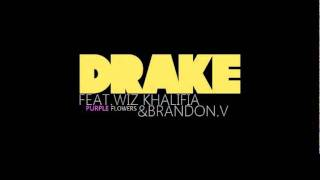 Brandon.V -Purple Flowers( Remix) Feat.Drake & Wiz Khalifa