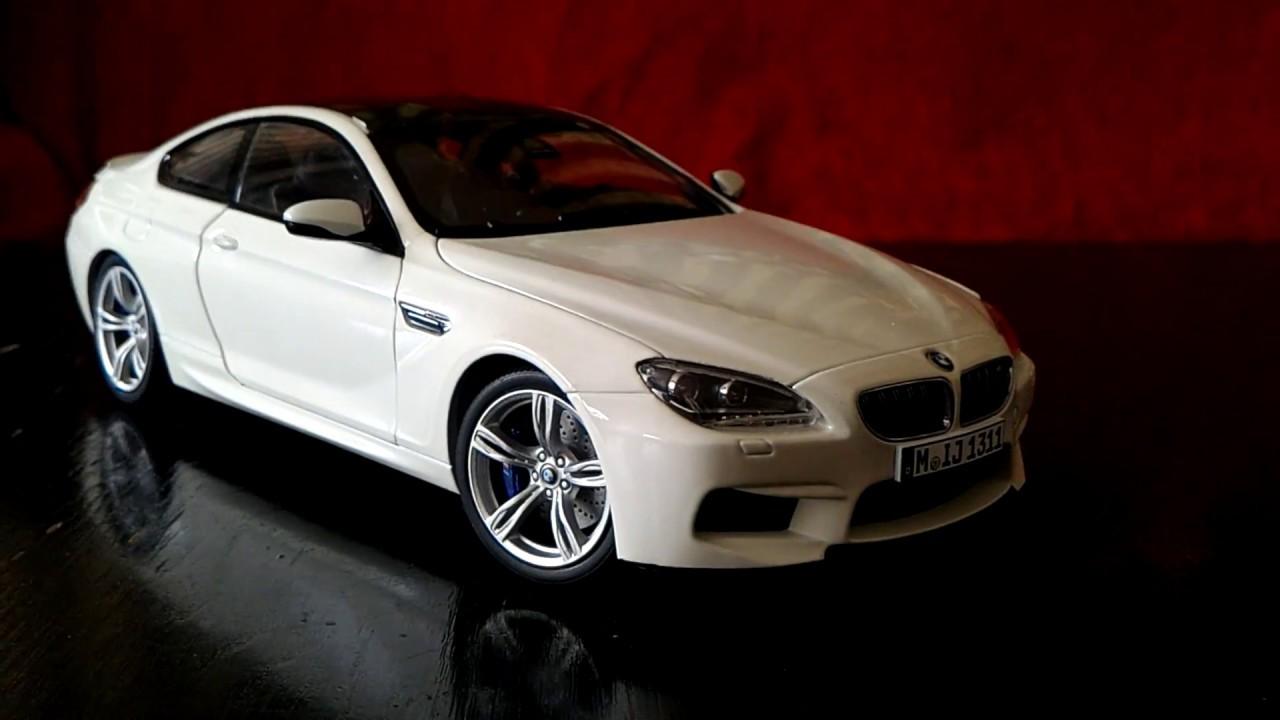Exceptional 1:18 Paragon BMW M6 Coupe Diecast Model Review