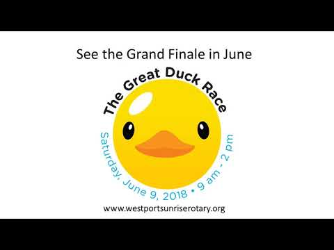 Great Duck Race 2018 l RADIO PSA 30 seconds PROMO for  06 09 18