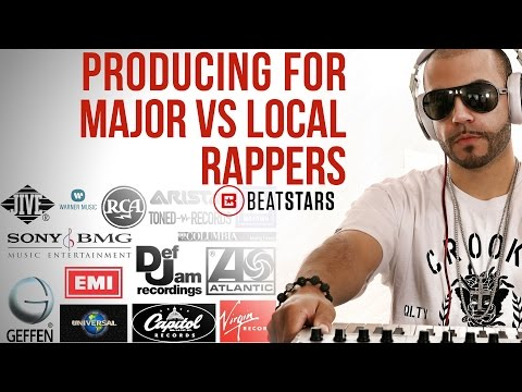 Producing for Major Artists vs. Local Artists
