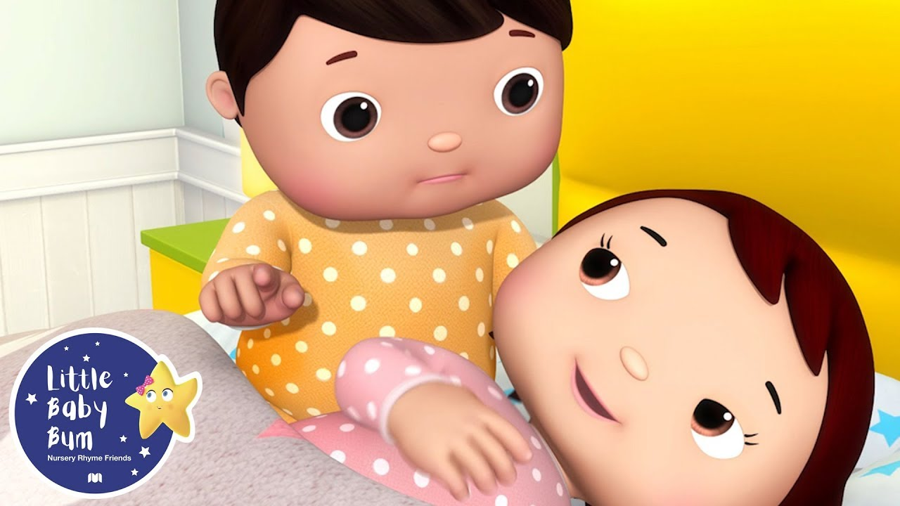 10 Babies In A Bed Baby Cartoons And Kids Songs Little Baby Bum Youtube