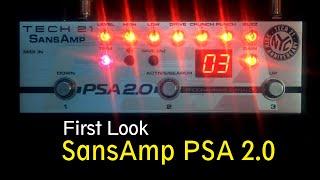 Tech 21 SansAmp PSA 2.0 First Look