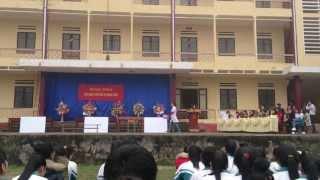 Ngoại khóa- sức khỏe sinh sản tuổi vị thành niên-Trường THPT Thị trấn Thác Bà