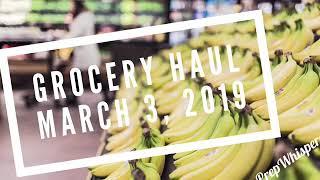 Weekly WW Grocery Haul - Weight Watchers