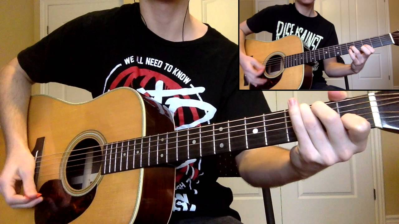 A Day To Remember If It Means A Lot To You Guitar Cover Youtube