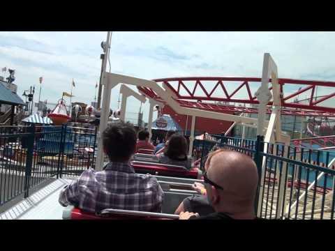 Clown Coaster Roller Coaster Luna Park Coney Island New York City