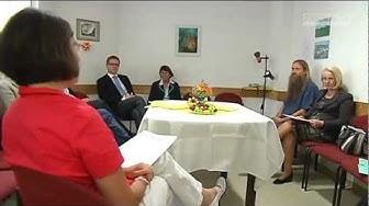 Ministerin besucht Suchtberatungsstelle