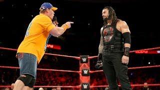 WWE Wal3ooha: المشادة الكلامية مستمرة بين جون سينا و رومان رينز في راو