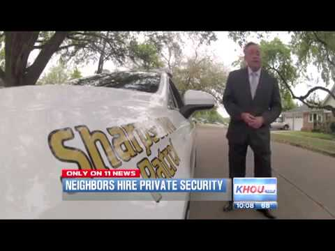 Houston Neighborhood Fires Cops, Hires Private Security, Less Crime, Less Cost!
