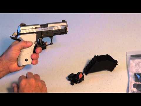 Universal Sight Mount for Handgun, Pistol Scope Mount no tools needed