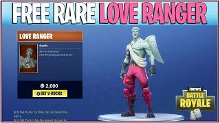 *NEW* Fortnite: HOW TO GET THE LOVE RANGER FOR FREE! | (Rare Skin Released!)