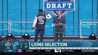 Detroit Lions Draft RB Kerryon Johnson - 2018 NFL Draft