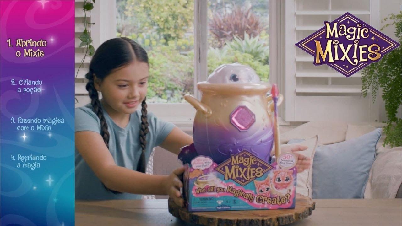 Como fazer mágica? | Caldeirão Mágico Magic Mixies | Candide Brinquedos
