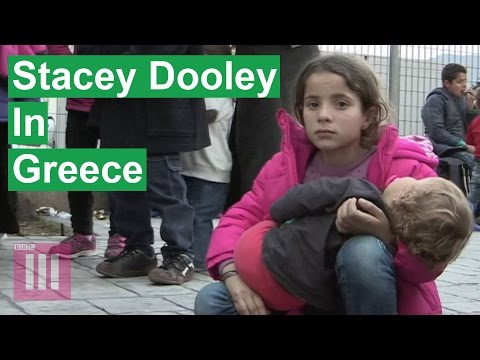 Migrant Kids In Crisis In Greece | Stacey Dooley Investigates