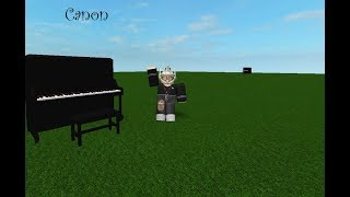 Canon | Virtual Piano | ROBLOX