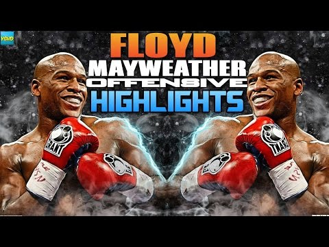 👑 Floyd Mayweather Jr: Brutal Offensive Highlights | 2016 HD