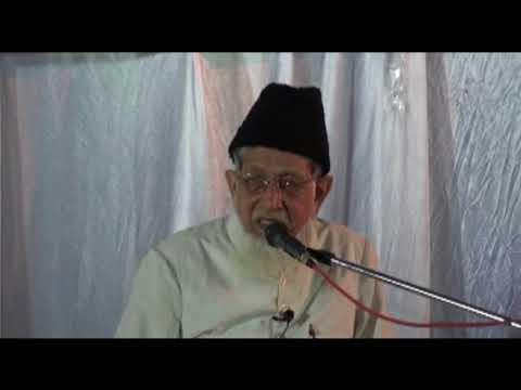 SAYED JALALUDDIN UMRI SAHAB AMEER-E-JAMAAT-E-ISLAMI HIND
