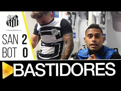Santos 2 x 0 Botafogo-SP | BASTIDORES | Paulistão (25/02/17)