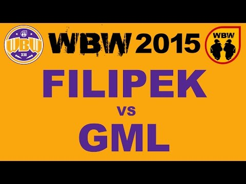 FILIPEK vs GML # WBW 2015 Łódź #  freestyle battle